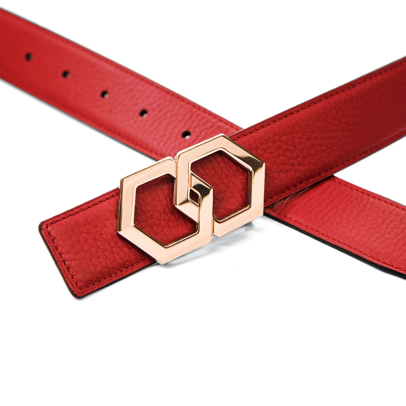 Canary Rose Rosso Noche Belt Reversible
