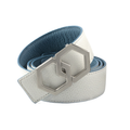 Metale Brosse Blanco Cielo Belt Reversible