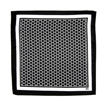NEGRO & BLANCO Pocket Square
