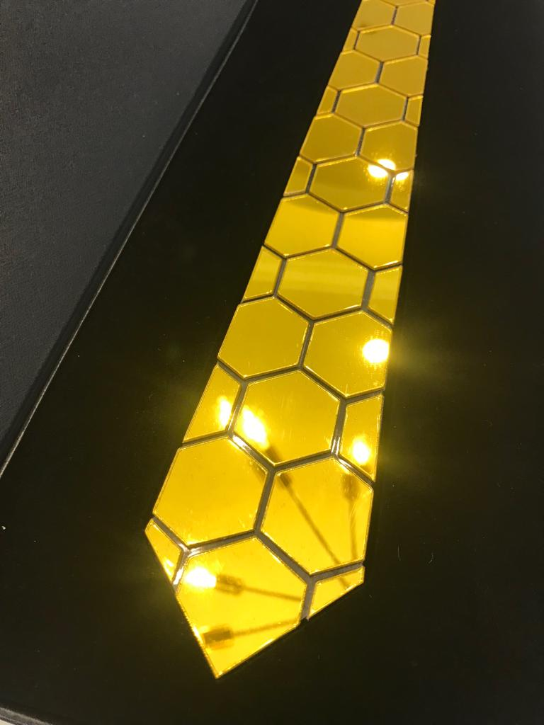 Canary Yellow Honeycomb