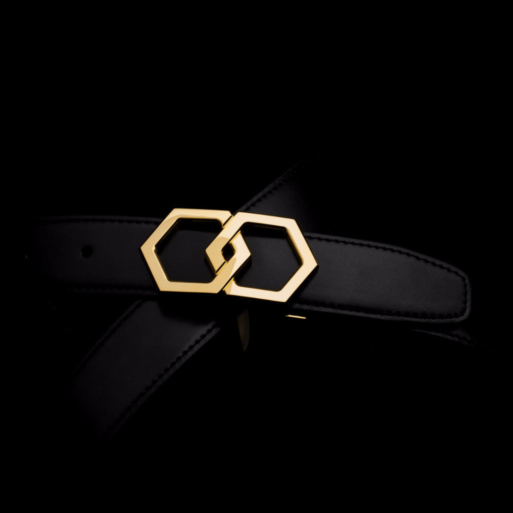LP 750 CANARY 18K PLATED - HEX TIE