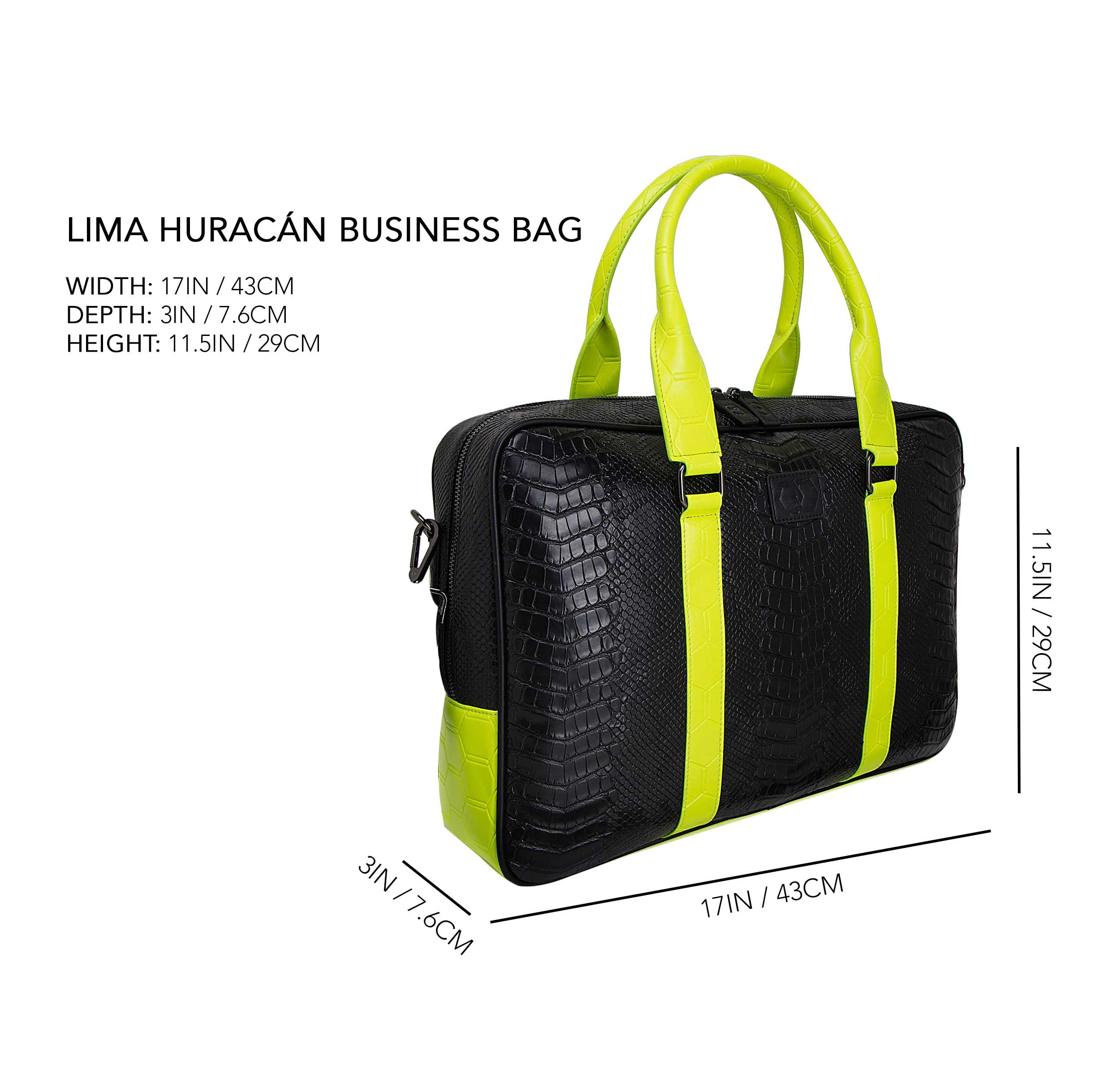 Lima Huracán Business Bag