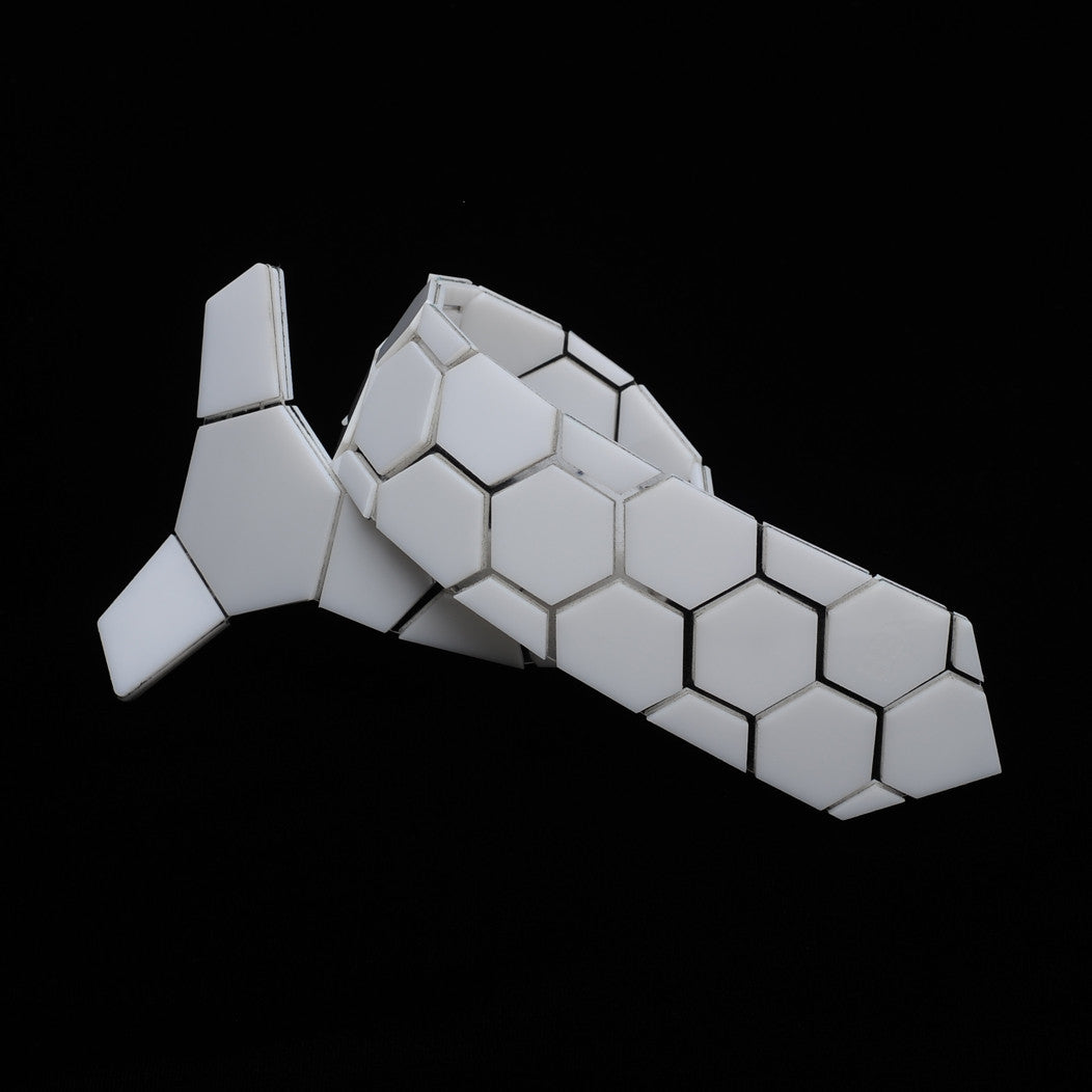 HONEYCOMB LOTUS - HEX TIE