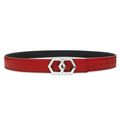 Metale Rosso Noche Belt Reversible