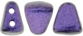 Nib-Bit Beads, Metallic Suede Purple, 8 grams