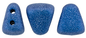 Nib-Bit Beads, Metallic Suede Blue, 8 grams