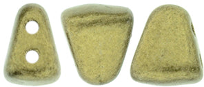 Nib-Bit Beads, Metallic Suede Gold, 8 grams