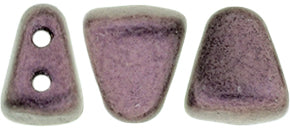 Nib-Bit Beads, Metallic Suede Pink, 8 grams