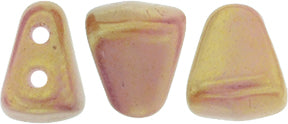 Nib-Bit Beads, Luster Opaque Pink, 8 grams