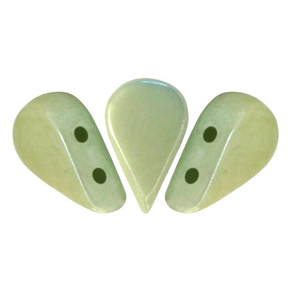 Amos® Par Puca®, AMS-0300-14457, Opaque Light Green Ceramic Look