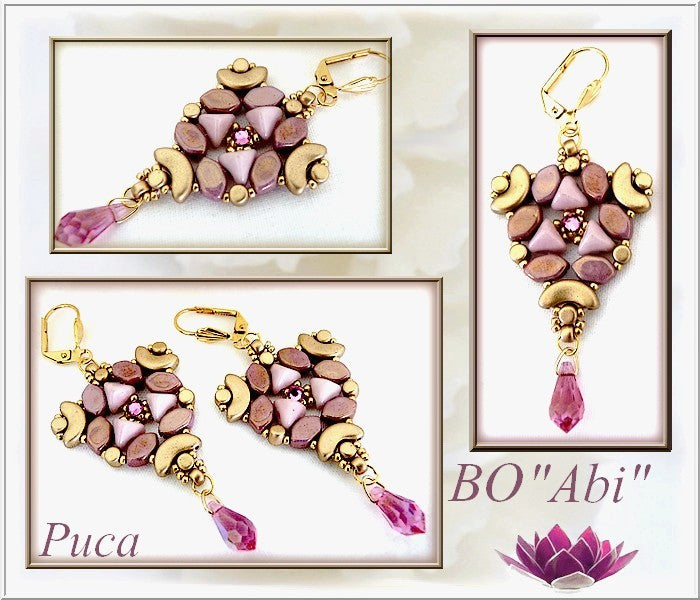 Abi Earrings - pattern