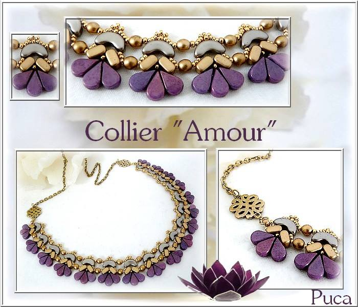 Amour Necklace - pattern