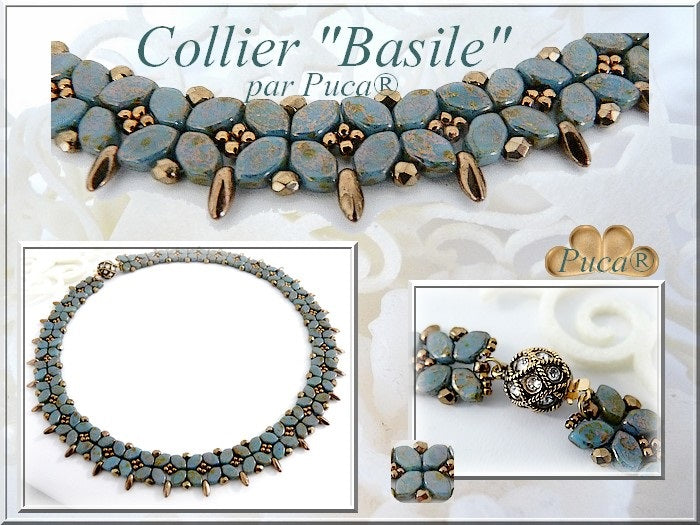 Basile Necklace - pattern