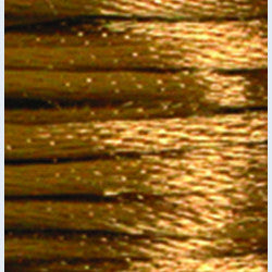 1mm Satin Rayon Rattail Cord, Camel, by the yard - Barrel of Beads
