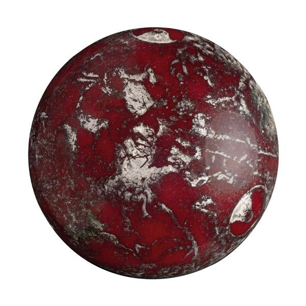 Cabochans Par Puca®, CAB18-9321-65400, Op Coral Red New Picasso