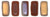 Czechmate 2mm X 6mm Brick Glass Czech Two Hole Bead, Matte Apollo Umber - Barrel of Beads