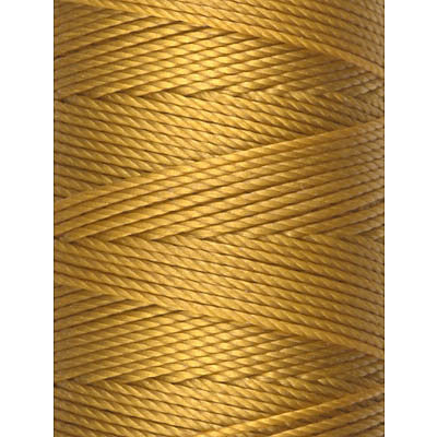 C-LON Bead Cord, Aurum - 0.5mm, 92 Yard Spool - Barrel of Beads