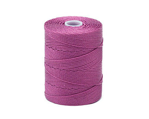 C-LON Bead Cord, Azalea - 0.5mm, 92 Yard Spool - Barrel of Beads