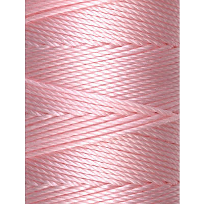 C-LON Bead Cord, Bubblegum - 0.5mm, 92 Yard Spool - Barrel of Beads