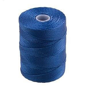 C-LON Bead Cord, Blue Lagoon - 0.5mm, 92 Yard Spool - Barrel of Beads