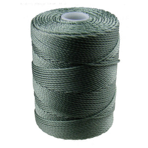 C-LON Bead Cord, Celadon - 0.5mm, 92 Yard Spool - Barrel of Beads