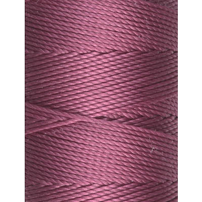 C-LON Bead Cord, Cerise - 0.5mm, 92 Yard Spool - Barrel of Beads