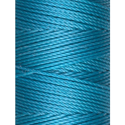 C-LON Bead Cord, Cyan - 0.5mm, 92 Yard Spool - Barrel of Beads
