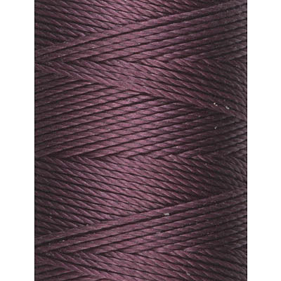 C-LON Bead Cord, Eggplant - 0.5mm, 92 Yard Spool - Barrel of Beads