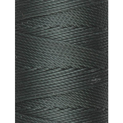 C-LON Bead Cord, Forest Green - 0.5mm, 92 Yard Spool - Barrel of Beads