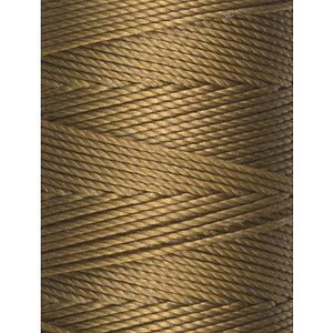 C-LON Bead Cord, Golden Olive - 0.5mm, 92 Yard Spool - Barrel of Beads