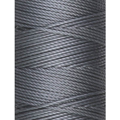 C-LON Bead Cord, Gray - 0.5mm, 92 Yard Spool - Barrel of Beads