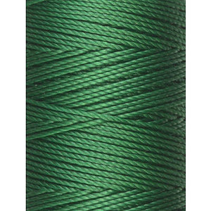 C-LON Bead Cord, Green - 0.5mm, 92 Yard Spool - Barrel of Beads