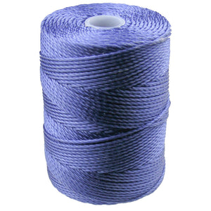 C-LON Bead Cord, Hyacinth - 0.5mm, 92 Yard Spool - Barrel of Beads