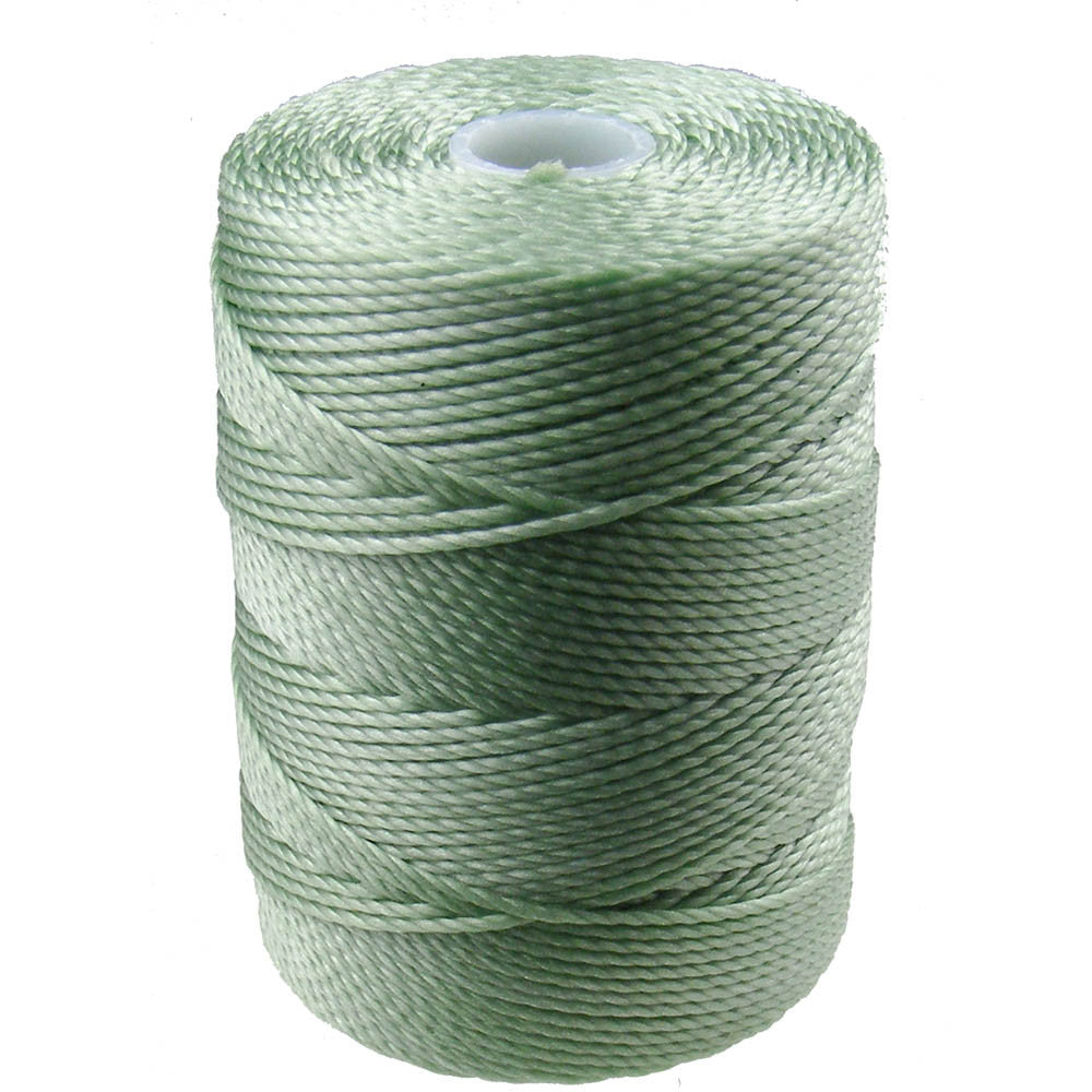 C-LON Bead Cord, Mint - 0.5mm, 92 Yard Spool - Barrel of Beads