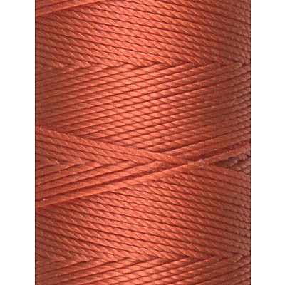 C-LON Bead Cord, Orange - 0.5mm, 92 Yard Spool - Barrel of Beads