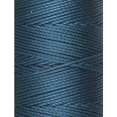 C-LON Bead Cord, Peacock - 0.5mm, 92 Yard Spool - Barrel of Beads