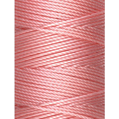 C-LON Bead Cord, Pink Lemonade - 0.5mm, 92 Yard Spool - Barrel of Beads