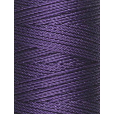 C-LON Bead Cord, Purple - 0.5mm, 92 Yard Spool - Barrel of Beads