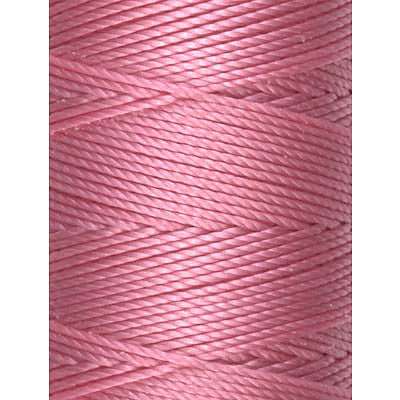 C-LON Bead Cord, Pink - 0.5mm, 92 Yard Spool - Barrel of Beads