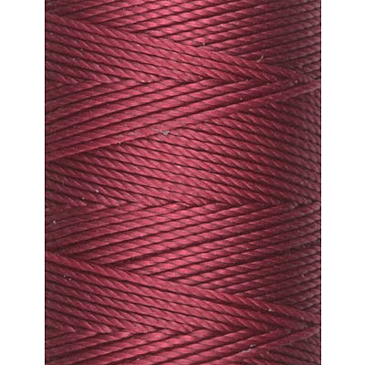 C-LON Bead Cord, Red - 0.5mm, 92 Yard Spool - Barrel of Beads