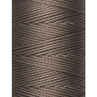 C-LON Bead Cord, Sepia - 0.5mm, 92 Yard Spool - Barrel of Beads