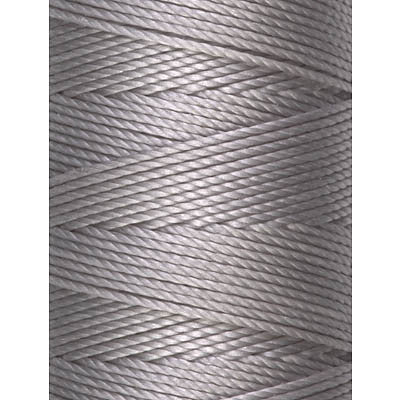 C-LON Bead Cord, Silver - 0.5mm, 92 Yard Spool - Barrel of Beads