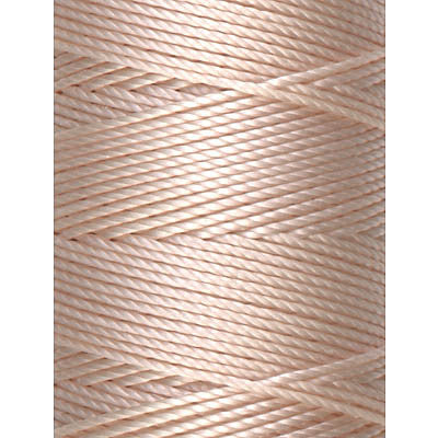 C-LON Bead Cord, Sea Shell - 0.5mm, 92 Yard Spool - Barrel of Beads