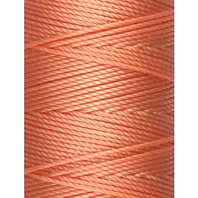 C-LON Bead Cord, Tangerine - 0.5mm, 92 Yard Spool - Barrel of Beads