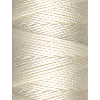 C-LON Bead Cord, Vanilla - 0.5mm, 92 Yard Spool - Barrel of Beads
