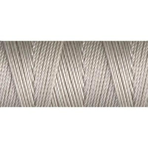 Beige nylon fine weight bead cord