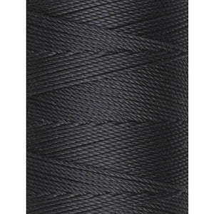 C-Lon Fine Weight Bead Cord, Black - 0.4mm, 136 Yard Spool - Barrel of Beads