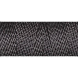Charcoal nylon fine weight bead cord
