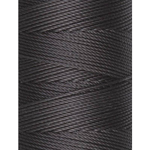 C-Lon Fine Weight Bead Cord, Charcoal - 0.4mm, 136 Yard Spool - Barrel of Beads
