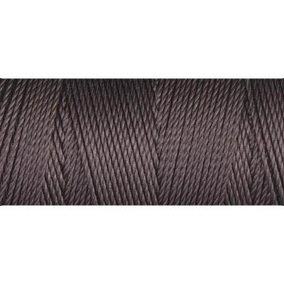 Chocolate nylon fine weight bead cord